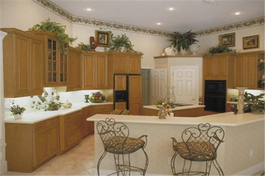 Kitchen of this 5-Bedroom,3424 Sq Ft Plan -3424
