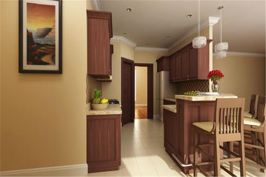 190-1011: Home Interior Photograph-Kitchen