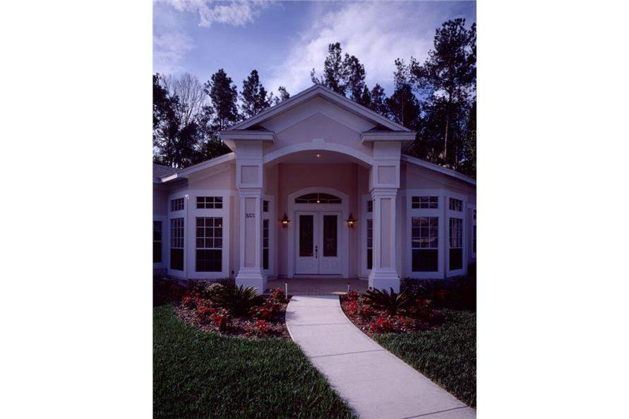 Porch of this 3-Bedroom,2656 Sq Ft Plan -2656