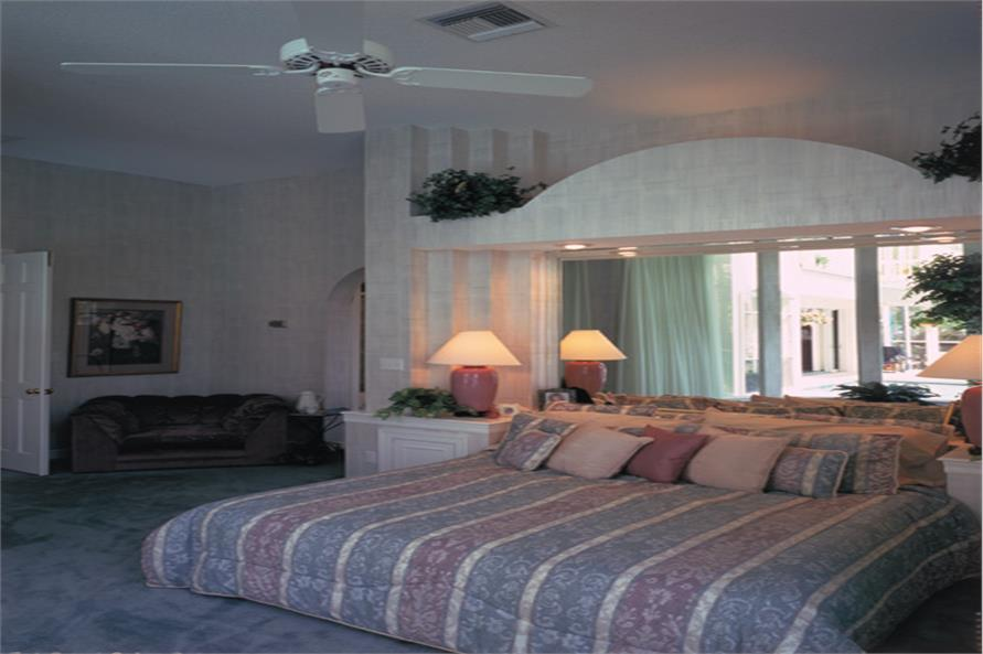 Master Bedroom of this 4-Bedroom,2887 Sq Ft Plan -2887
