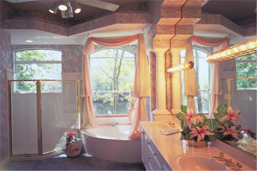 190-1018: Home Interior Photograph-Master Bathroom