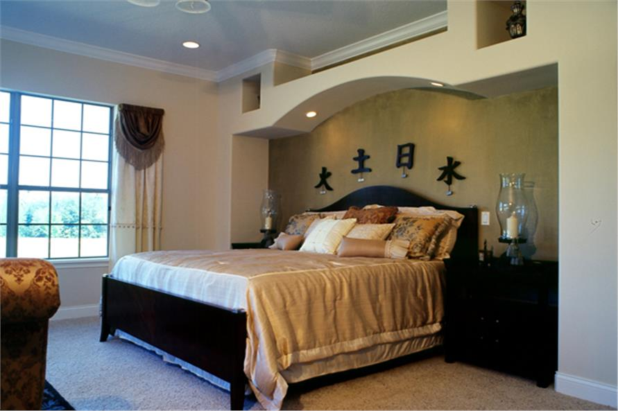 Master Bedroom of this 4-Bedroom,3290 Sq Ft Plan -3290