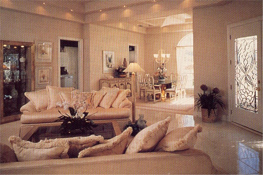 190-1019: Home Interior Photograph-Living Room