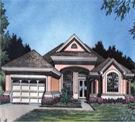 House Plan #190-1022