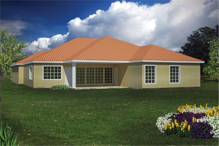 191-1002: Home Plan Rendering
