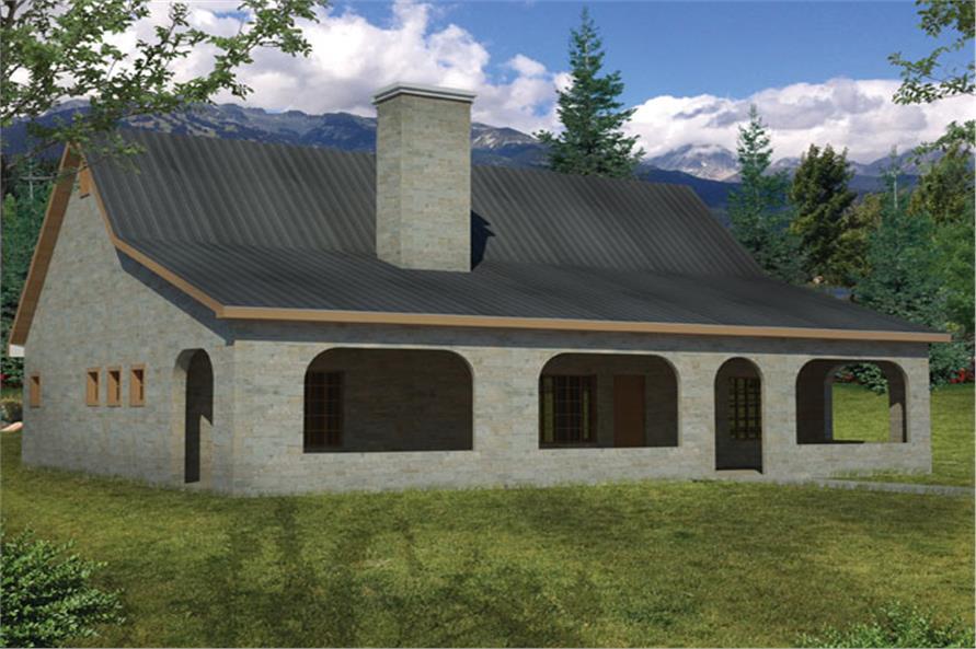 191-1004: Home Plan Rendering