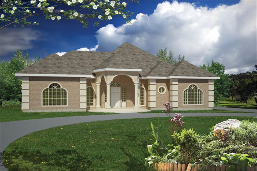 Ranch House Plan 191 1006 3 Bedrm 1733 Sq Ft Home