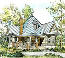 House Plan #192-1001