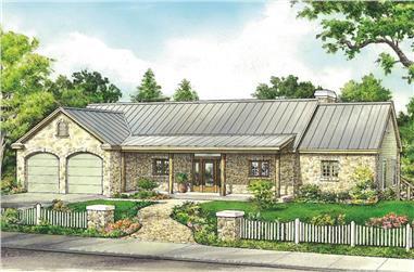 3-Bedroom, 2026 Sq Ft Ranch Home - Plan #192-1062 - Main Exterior