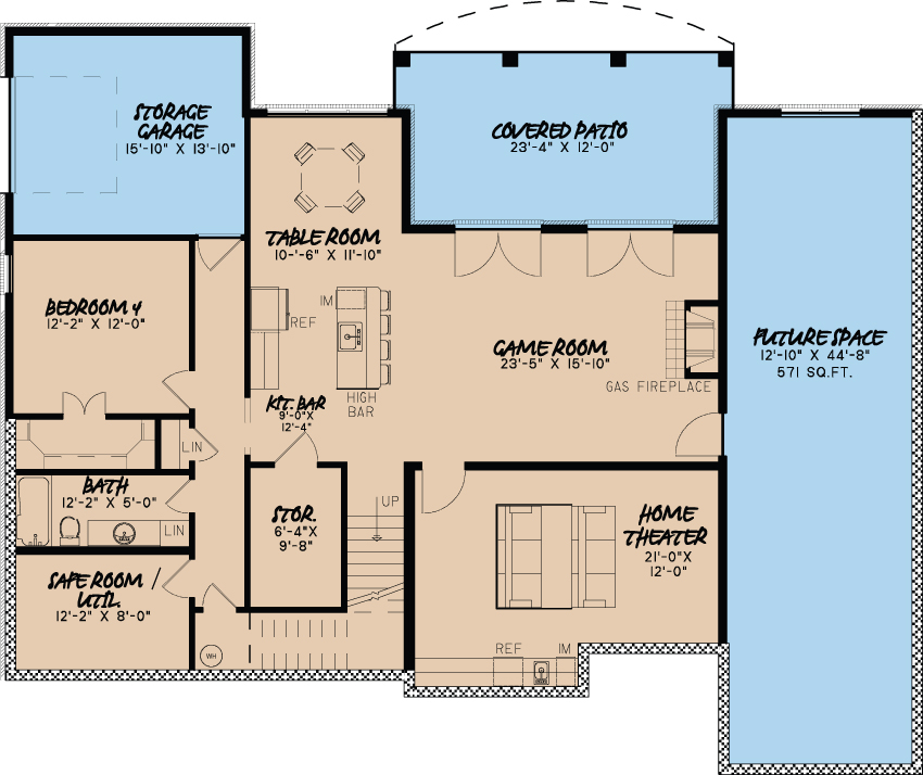 European house plan 193 1001 4 bedrm 4035 sq ft home plan for European house plans with basement