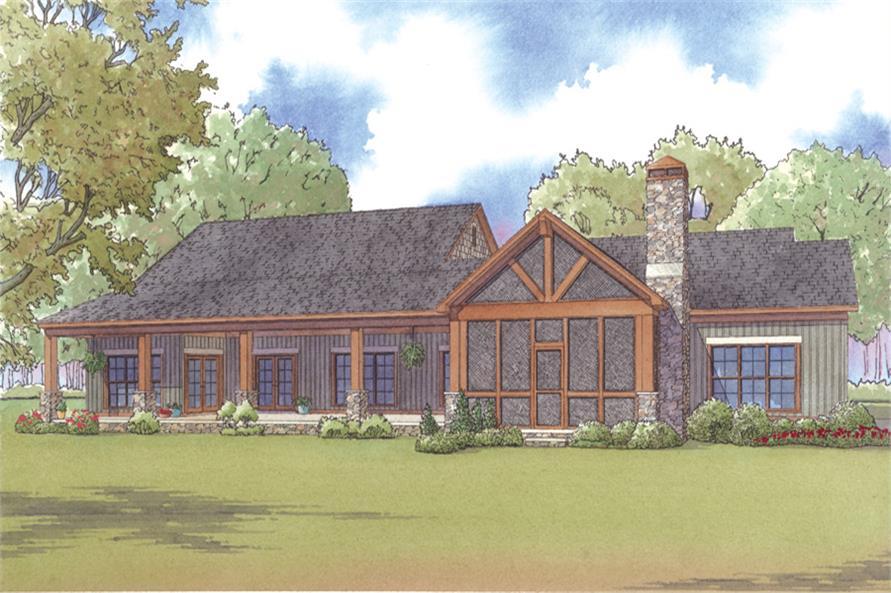 193-1004: Home Plan Rendering