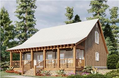 3-Bedroom, 1661 Sq Ft Farmhouse House - Plan #193-1005 - Front Exterior