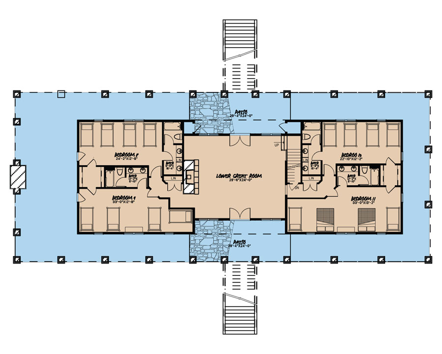 multi unit house plan 193 1006 11 bedrm 5121 sq ft per