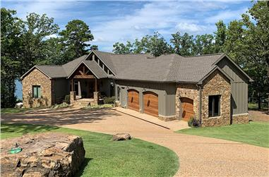 4-Bedroom, 5054 Sq Ft Country Home - Plan #193-1022 - Main Exterior