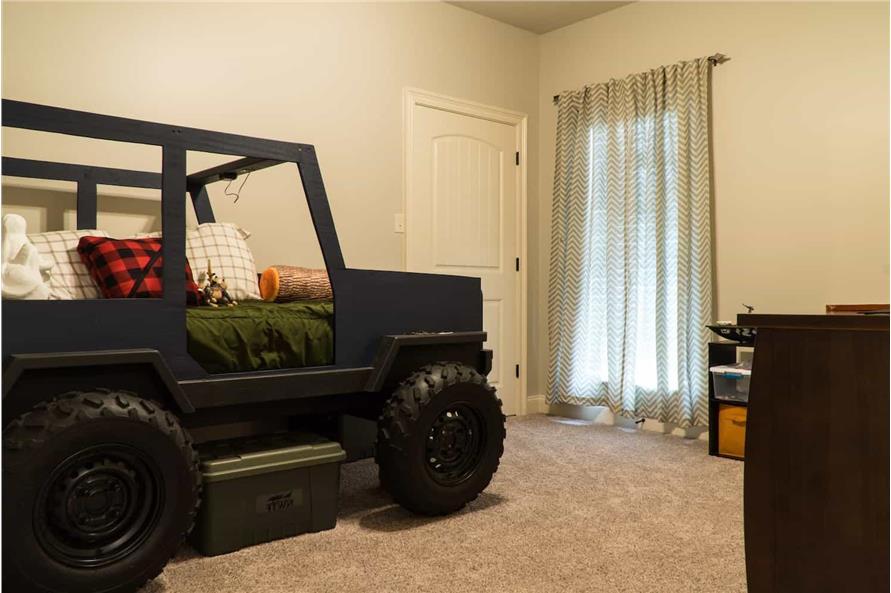 Bedroom: Kids of this 5-Bedroom,2513 Sq Ft Plan -193-1029