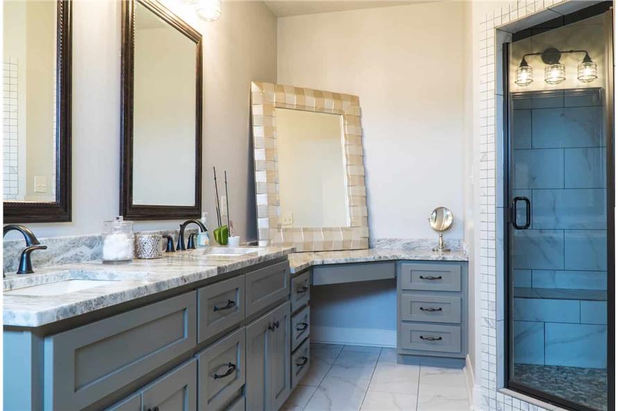 Master Bathroom: Sink/Vanity of this 5-Bedroom,2513 Sq Ft Plan -193-1029