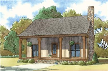 3-Bedroom, 1764 Sq Ft Country House Plan - 193-1031 - Front Exterior