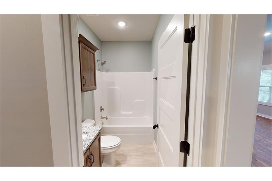 Bathroom of this 3-Bedroom,1640 Sq Ft Plan -193-1033