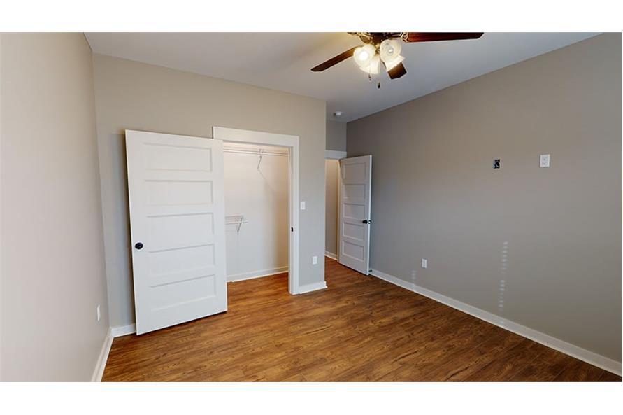 Bedroom of this 3-Bedroom,1640 Sq Ft Plan -193-1033