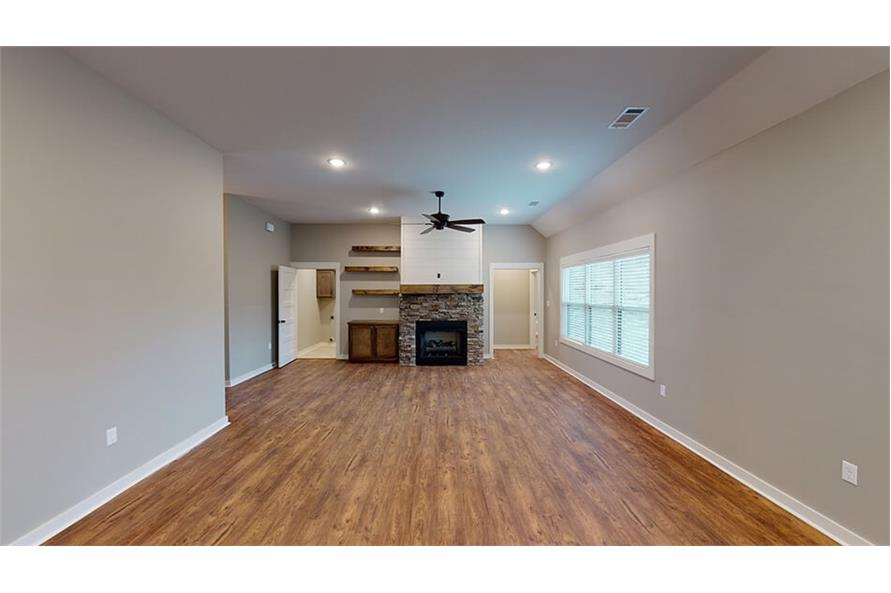 Great Room of this 3-Bedroom,1640 Sq Ft Plan -193-1033