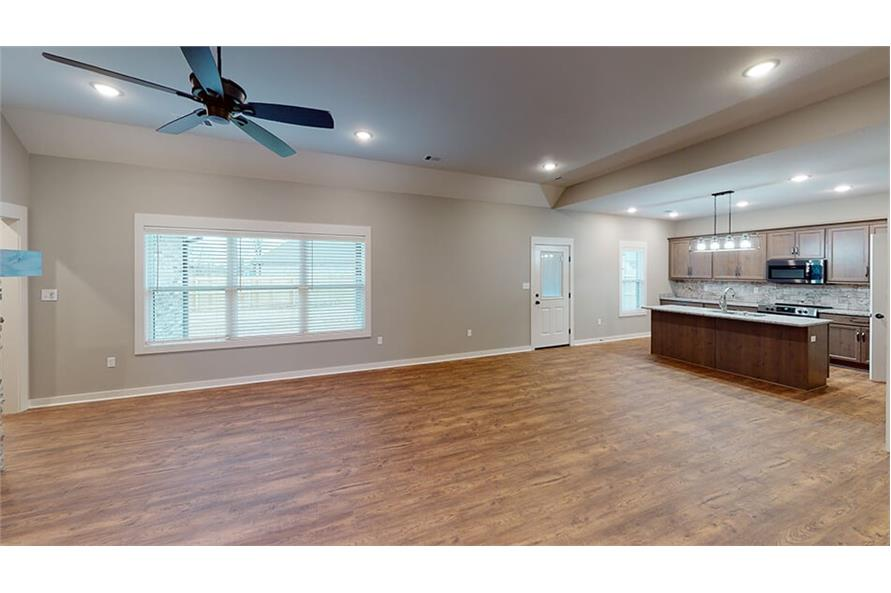 Dining Room of this 3-Bedroom,1640 Sq Ft Plan -193-1033