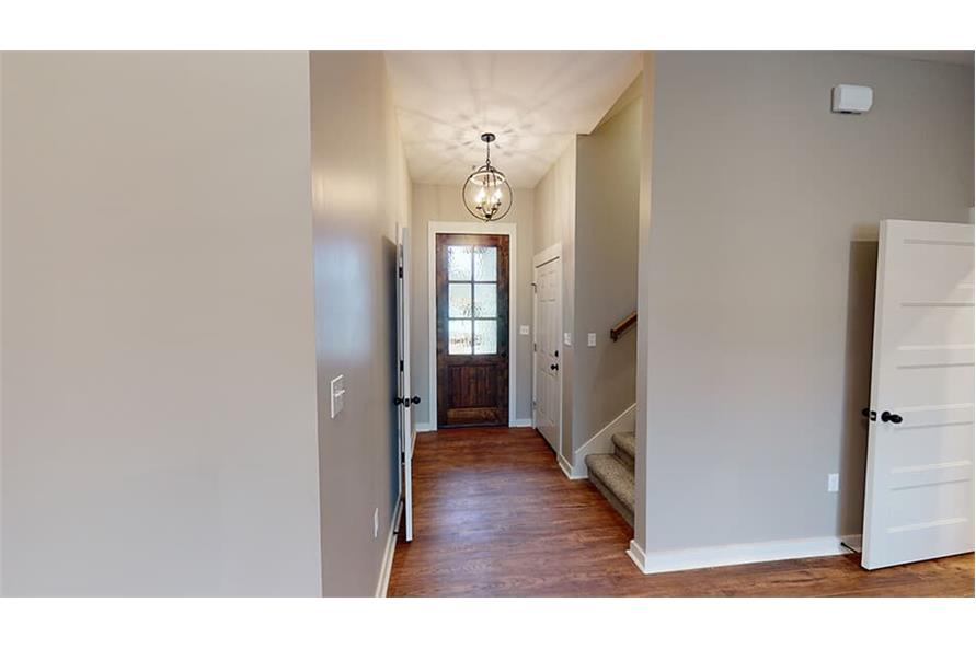 Entry Hall: Foyer of this 3-Bedroom,1640 Sq Ft Plan -193-1033