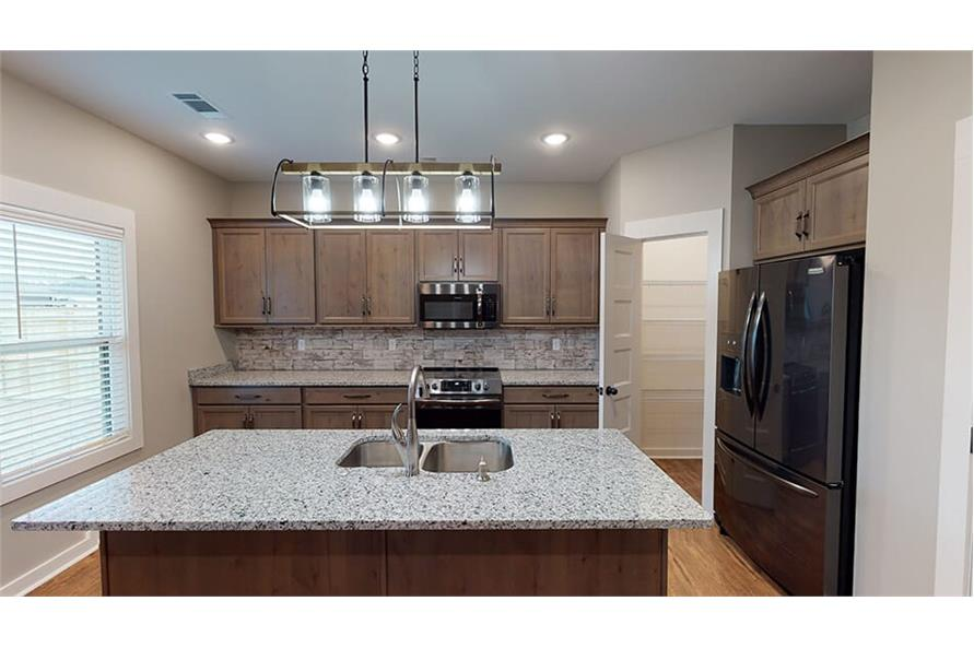 Kitchen of this 3-Bedroom,1640 Sq Ft Plan -193-1033