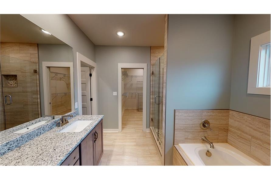 Master Bathroom of this 3-Bedroom,1640 Sq Ft Plan -193-1033
