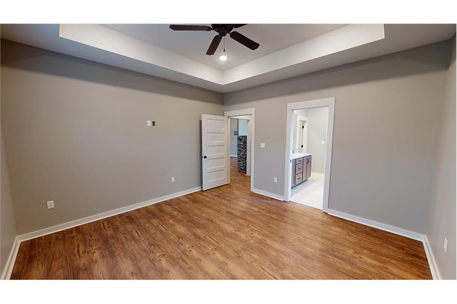 Master Bedroom of this 3-Bedroom,1640 Sq Ft Plan -193-1033