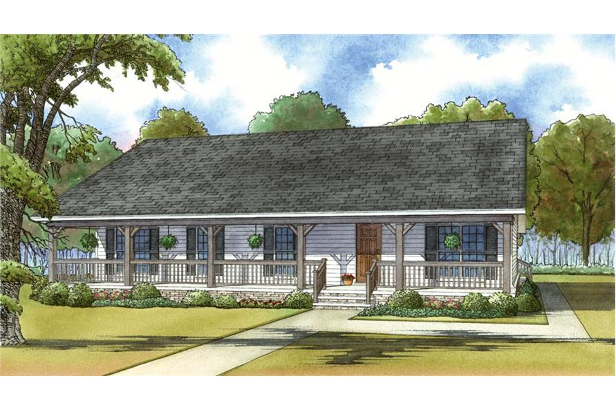 3 bedrm 1800 sq ft country house plan 193 1035 for 1800 sq ft country house plans
