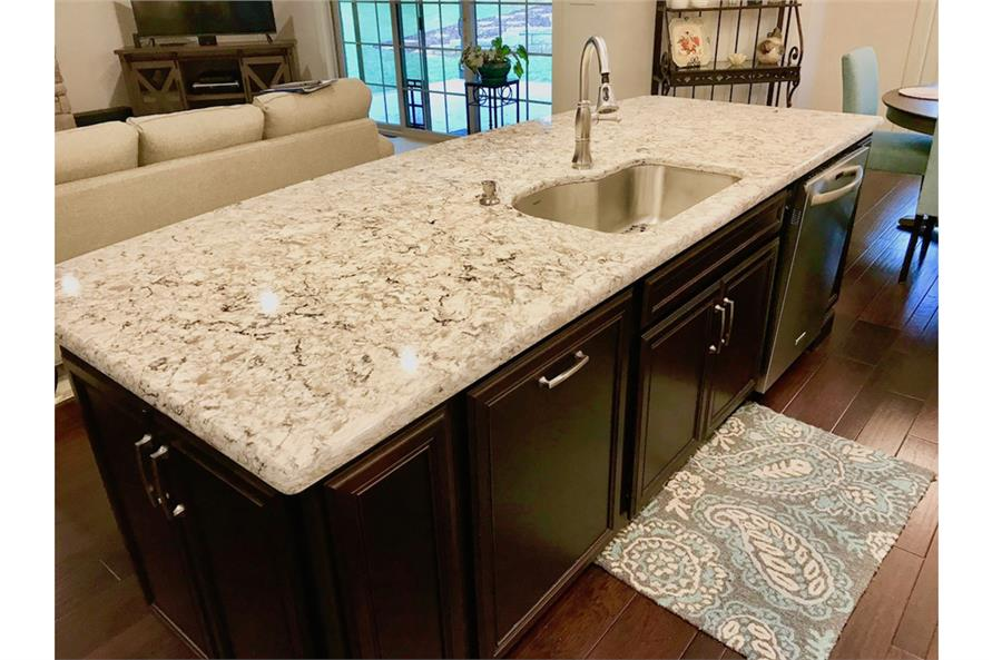 Kitchen of this 3-Bedroom,2381 Sq Ft Plan -2381