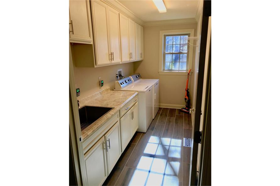 Laundry Room of this 3-Bedroom,2381 Sq Ft Plan -2381