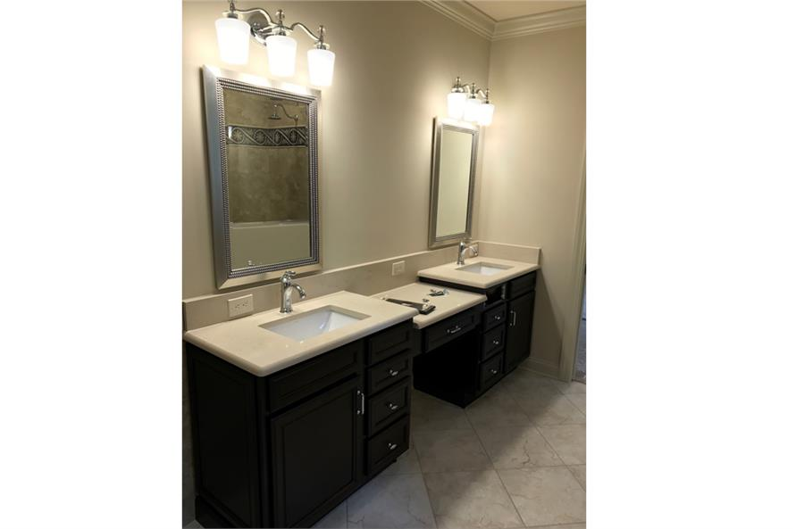 Master Bathroom of this 3-Bedroom,2381 Sq Ft Plan -2381