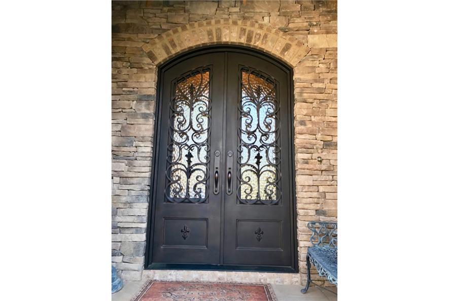 Front Door of this 3-Bedroom,2381 Sq Ft Plan -2381