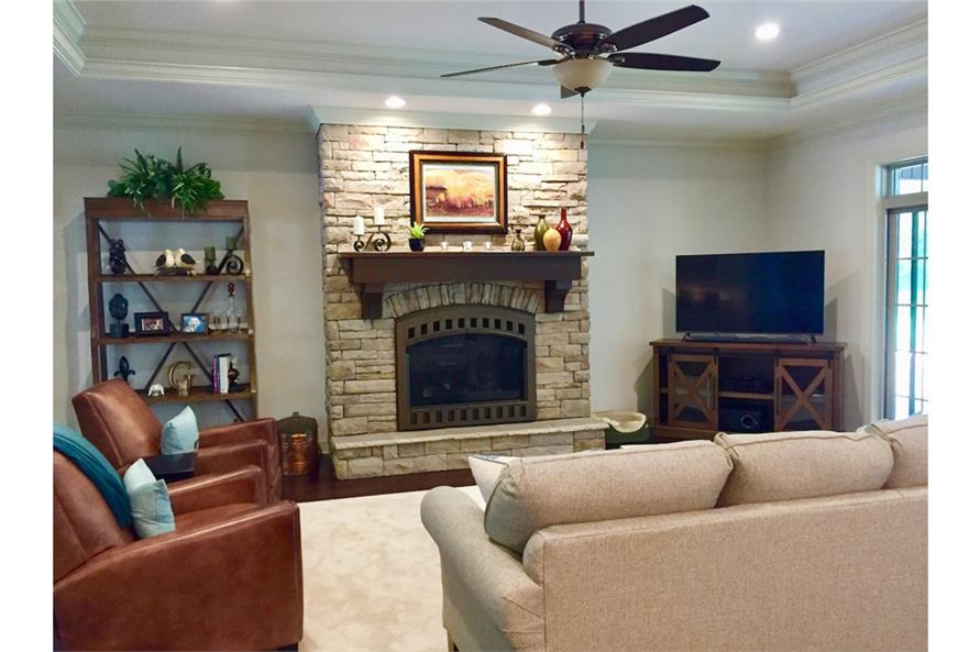 Great Room of this 3-Bedroom,2381 Sq Ft Plan -2381
