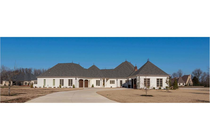 Left Side View of this 5-Bedroom,5695 Sq Ft Plan -193-1067