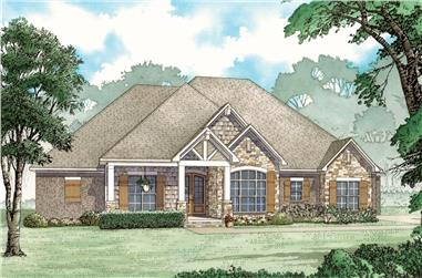 3-Bedroom, 2253 Sq Ft Bungalow Home - Plan #193-1069 - Main Exterior