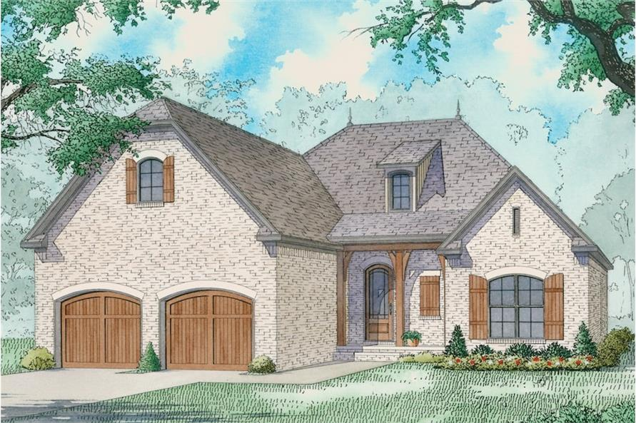 3-Bedroom, 1786 Sq Ft Rustic House - Plan #193-1084 - Front Exterior