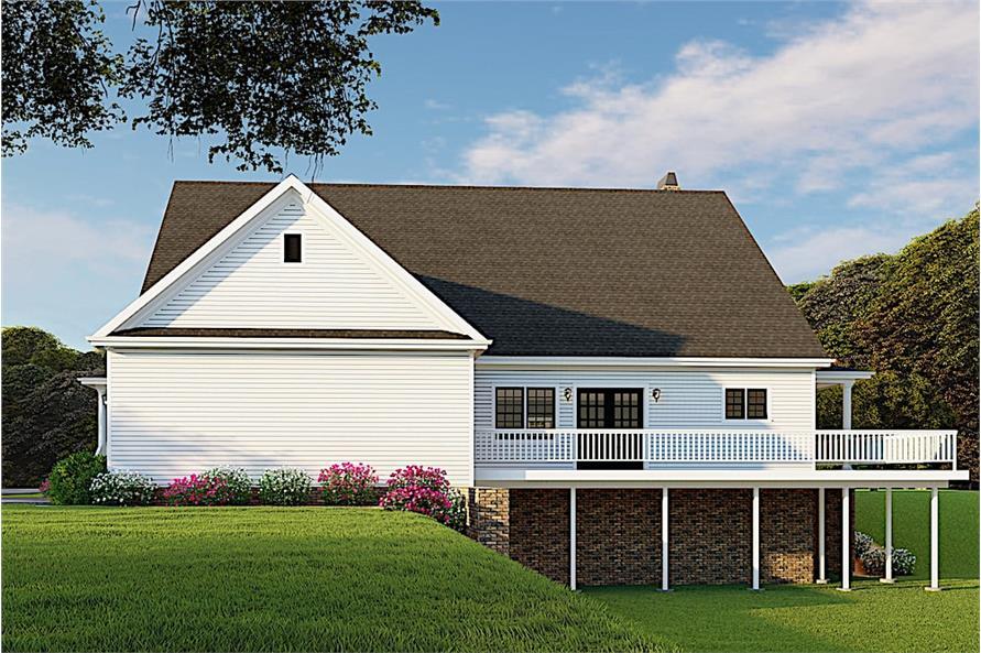 Home Plan Rendering of this 3-Bedroom,2711 Sq Ft Plan -2711