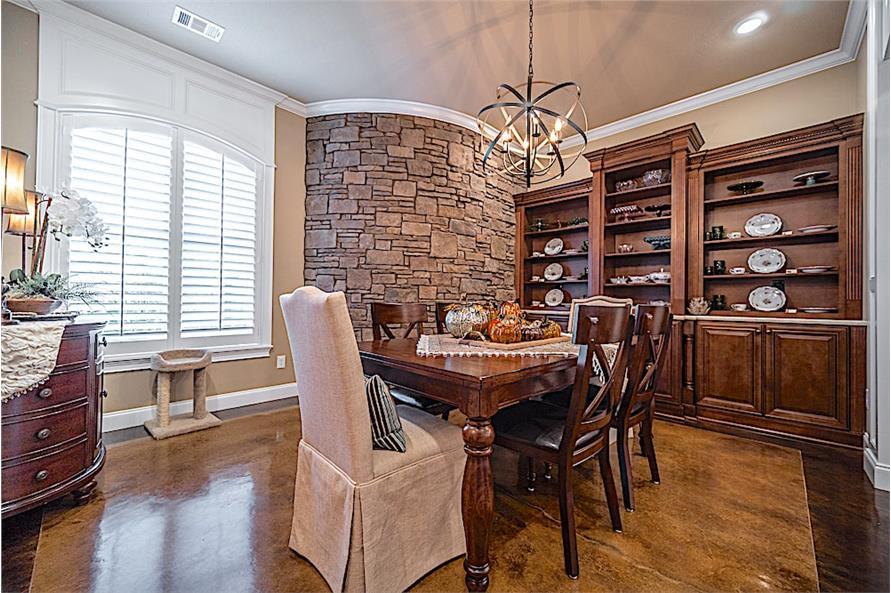 Dining Room of this 5-Bedroom,4719 Sq Ft Plan -4719