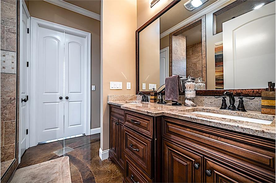 Master Bathroom of this 5-Bedroom,4719 Sq Ft Plan -4719