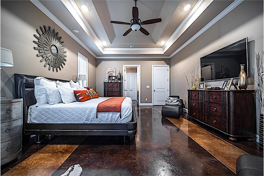 Master Bedroom of this 5-Bedroom,4719 Sq Ft Plan -4719