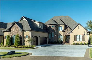 5-Bedroom, 4719 Sq Ft European Home - Plan #193-1095 - Main Exterior