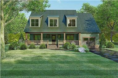 4-Bedroom, 2663 Sq Ft Cape Cod Home - Plan #193-1096 - Main Exterior