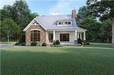 3-Bedroom, 1957 Sq Ft Cottage Home - Plan #193-1103 - Main Exterior