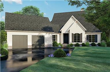 3-Bedroom, 3004 Sq Ft Contemporary Home - Plan #193-1104 - Main Exterior