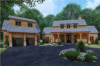3-Bedroom, 2687 Sq Ft Farmhouse Home - Plan #193-1105 - Main Exterior