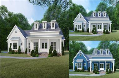 4-Bedroom, 2220 Sq Ft Farmhouse Home - Plan #193-1106 - Main Exterior