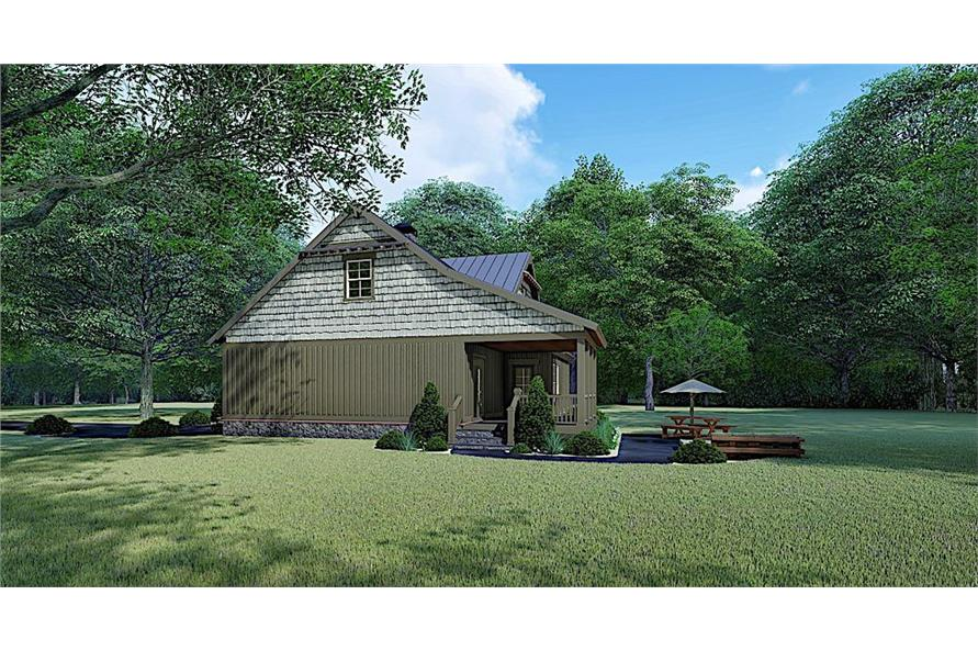 Right View of this 3-Bedroom,1905 Sq Ft Plan -1905