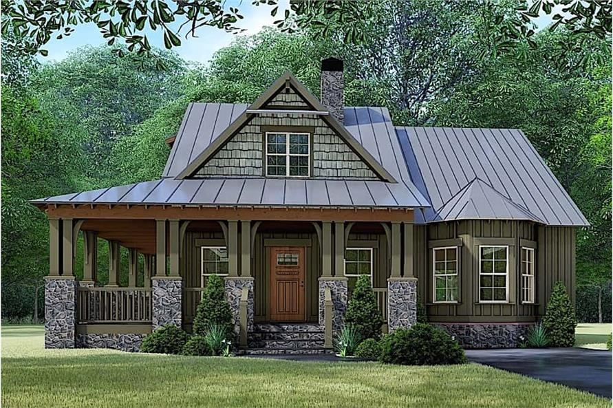 3-Bedroom, 1905 Sq Ft Cottage House - Plan #193-1108 - Front Exterior